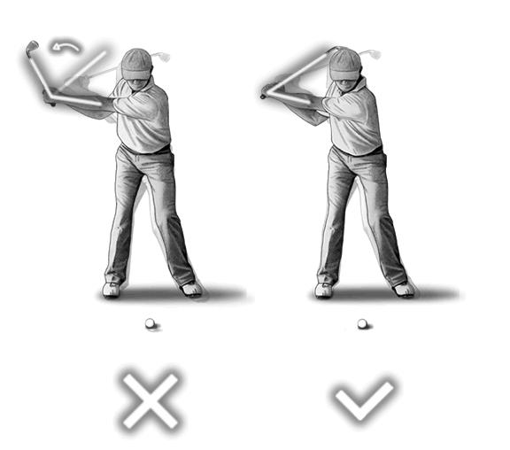 正しいゴルフのスイング【STEP1】アドレス