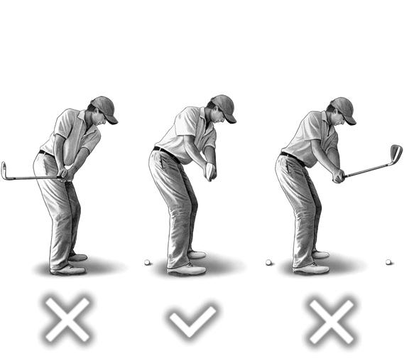 正しいゴルフのスイング【STEP2】テークバック・バックスイング