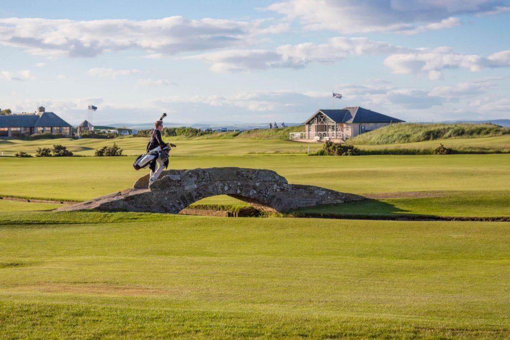 最も美しいゴルフコース:セントアンドリュース・スコットランド